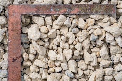 "1 1/2"" clean limestone"
